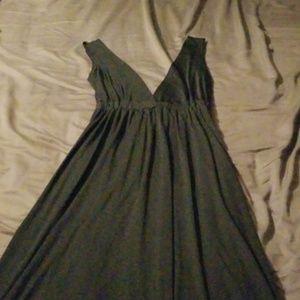 All black maxi dress 🔥🔥💣💥